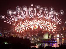 Sydney Harbour New Years Eve Fireworks
