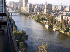 The Nile from apartment balcony