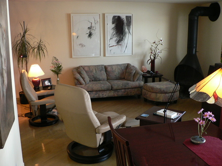 Living-room, salon