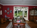 dining room: magnificent view of the garden 