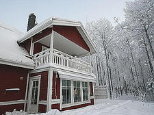 Our home in wintertime