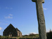 Celtic Cross: Ancient 6th century celtic cross found outside Culdaff County Donegal.26 miles/40km from our home.