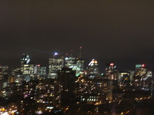 Montreal City Lights/Montral la nuit