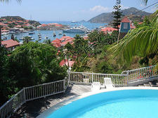 my view over Gustavia Harbor