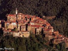 wiew of Apricale