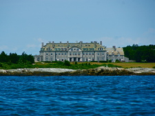 Mansion from water 