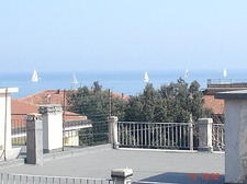 Senigallia view from our window (Ancona)