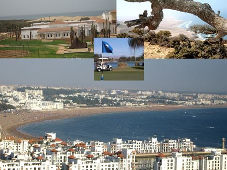 AGADIR BAY with 3 GOLFS