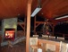 Covered Deck - Fireplace & Overhead Gas Heaters (plus Outdoor Christmas Tre