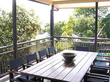 Back deck & dining