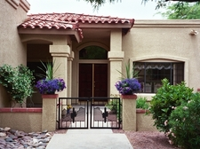 Private Southwestern Entrance