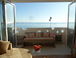 Direct beach and sea views from the first floor living room and terrace: Direct seeviews from the living room and terrace (one of the 4 terraces of the house).