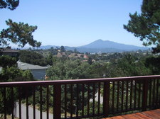 Mt Tamalpais view from front deck