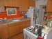 The Kitchen: Ready for cooking up your groceries from the Kilauea farmer's market. There's a great source for goat cheese nearby and unbelievable local fruits and vegetables